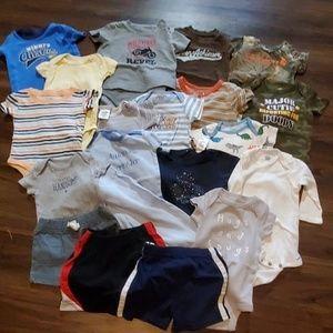Boys 3-6 month summer lot